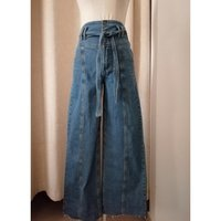 Used FOREVER 21 high waisted flared jeans in Dubai, UAE