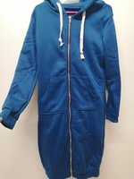 Used Women's Hooded Overcoat,Ladies Zipper. in Dubai, UAE