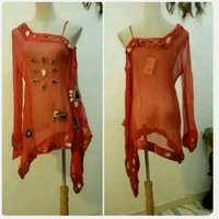 Used Red top fashionable brand new in Dubai, UAE