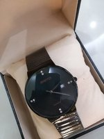 Used ULTRA THIN WATERPROOF MENS WATCH NEW in Dubai, UAE