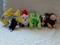 Used Soft toys 23 pcs in Dubai, UAE