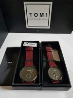 Used Couple leather Watches ~ Original TOMI in Dubai, UAE