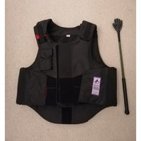Used Horse riding protection vest and whip in Dubai, UAE