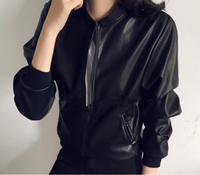 75% discount new leather short jacket