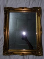 Used Golden mirror in Dubai, UAE