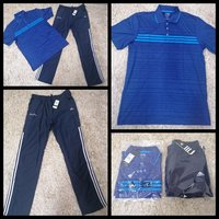 Used Adidas trouser and polo t-shirt for men in Dubai, UAE