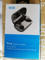 W20 True Wireless Headset Black