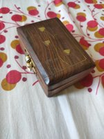 Used Wooden Handmade box in Dubai, UAE