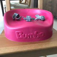Used Bumbo Booster Seat - Magenta in Dubai, UAE