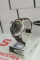 Authentic CASIO Leather Watch - SWD1BL