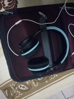 Small travel bag and headset