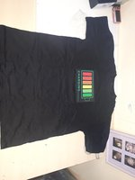 Used Music flash light t -shirt in Dubai, UAE
