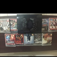 Used PS3 500 GB with 9 Games And 2 Wireless Controllers in Dubai, UAE