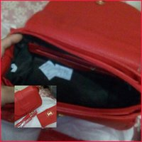 Used Bundle Bag N' Wallet Red Branded H Q in Dubai, UAE