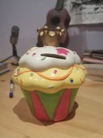 Used Antique Cupcake Money Bank in Dubai, UAE