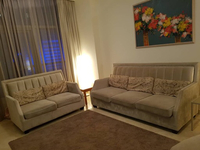 Used 2 velvet sofas in Dubai, UAE