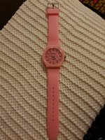 Used Pink Geneva quartz watch in Dubai, UAE