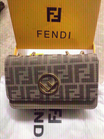 Used Fendi sling bag ,with box,card ,dust bag in Dubai, UAE