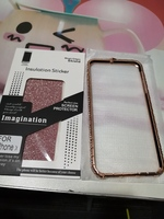 Used Snake Frame Case for iPhone X rose gold in Dubai, UAE