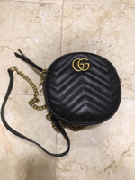 Used Gucci marmont mini round bag in Dubai, UAE