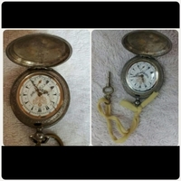 Used Antique pocket watch with key very Rare in Dubai, UAE