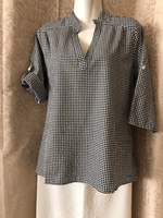 Black XL blouse UK 12