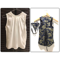 Used New Bundle Blouse & Corset Size S in Dubai, UAE