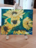 Used Sunflower mini canvas in Dubai, UAE