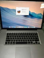 Used MacBook Pro i7 |17 inches 8 gb ram 500gb in Dubai, UAE