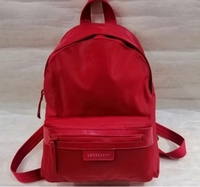Used LONG CHAMP LADIES BACKBAG RED in Dubai, UAE