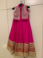 Used Indian top with skirt and scarf in Dubai, UAE