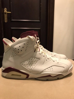 Used Air Jordan 6 Maroon in Dubai, UAE