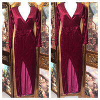 Used Red velvet dress XXL in Dubai, UAE
