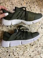 Used Army green shoes in Dubai, UAE