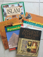 Used Books about Egypt, religion and rituals in Dubai, UAE