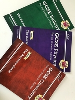 Used gcse cgp revision guides triple science  in Dubai, UAE