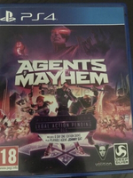 Used Agents of mayhem for PS4  in Dubai, UAE
