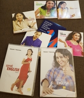 Used Speak Eng Learning Kit 2DVD+5 Booklets in Dubai, UAE