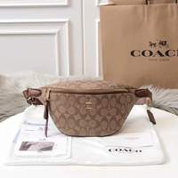 Used Coach  Signature belt fanny bag in Dubai, UAE