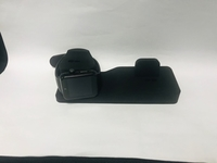 Black charging stand 3in1 /New/