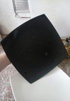 Used 8 Black n white Big plates from France in Dubai, UAE