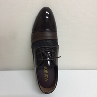 Brown official shoes for man size 46
