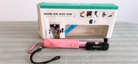 Used Pink Selfie stick with charging cord in Dubai, UAE
