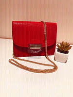 Used Ladies small red handbag  in Dubai, UAE