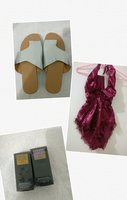 Used Women romper/slippers and Hair chalk in Dubai, UAE