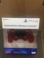 playstation 4 red crystal controller