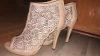 Used Beige heels in Dubai, UAE