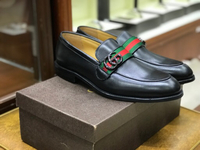 Gucci replica leather formal shoes
