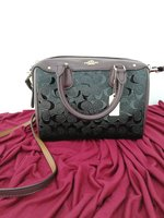 Used Original Coach Mini bennett oxblood in Dubai, UAE