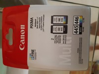 Used Canon 445 and 446 ink unopened in Dubai, UAE